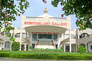 """1 Photo - ORC CAMPUS - Spiritual Art Gallery """"From Darkness to Light"""" is visited by hundreds everyday"""